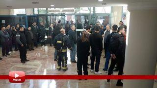 Antalya'da Yangın Alarmı Devreye Girdi, Hastanede Kısa Süreli Panik Yaşandı