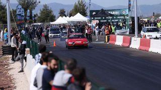 Antalya Kepez'deki Drag Pisti Heyecanlı Yarışlara Sahne Oldu