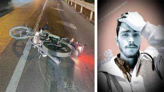 Antalya'da Kontrolden Çıkıp Devrilen Motosiklet Sürücüsü Öldü