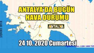 Antalya'da Hava Açık ve Az Bulutlu Geçecek, Rüzgar Öğlen Güney Yönlerden Orta Kuvvette Esecek