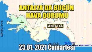 Antalya'da Hava Parçalı Bulutlu, Batı İlçeleri Yağışlı, Gece Sıcaklıkları Artıyor
